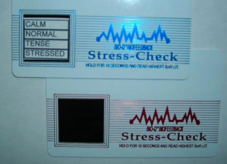 Bio Q Stress Check Card      (as seen                  on Dr. Oz Show)